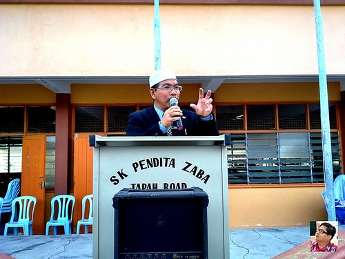 skpz perhimpunan pagi terakhir tuan guru besar haji abidin bin haji sharif