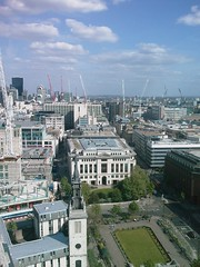 London from St Paul's Cathedral
