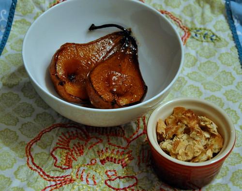 Amaretto-Roasted Pears
