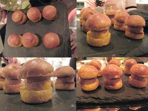 Foi Gras Mini Burgers at Bazaar, MyLastBite.com