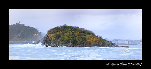 Isla Santa Clara (Donostia)