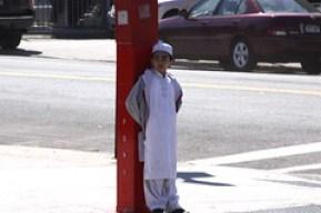 Muslim Boy in Sunnyside, Queens
