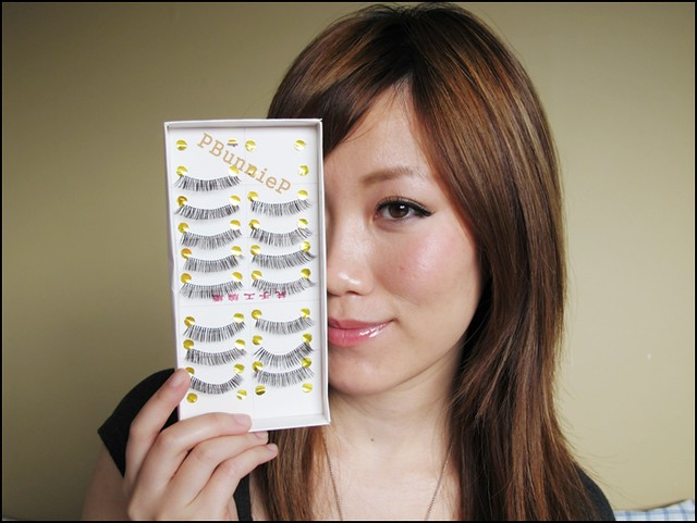 False lash tutorial