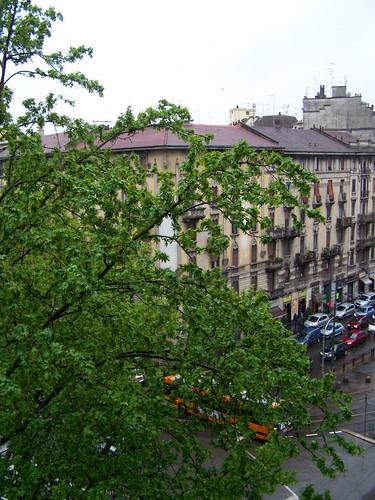 Rainy Milan