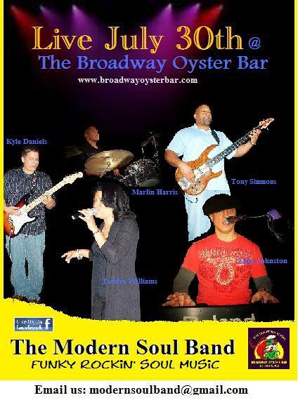 Modern Soul Band 7-30-11