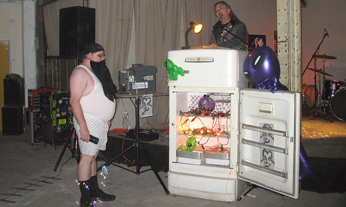 20081115 - SubGenius Baltimore Devival #2 - Stang - preaching, weird guy, bubbles - (by RadioFreeMountairy@Flickr) - 3035653342_f9f304c5de_o - please click through to leave a comment on FlickR