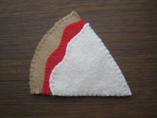 felted pizza