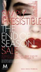 Melium End of Season sale
