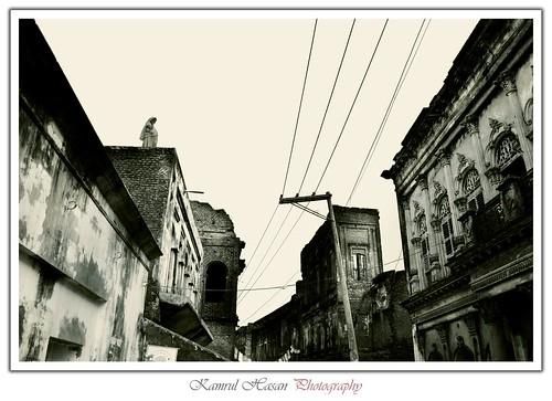 Looking back to past (Sonargaon, Bangladesh)