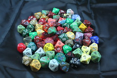 Various RPG Dice from my Collection