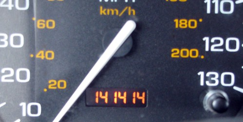 Cool odometer reading