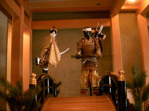 Museo de teatro Noh. Autómatas. Hashi Benkei.