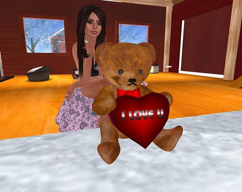 JE*Republic Lucky Chair Bear