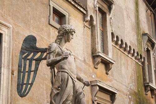 Angeles de Roma Castelo d'Angelo