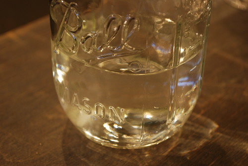 One liter jar + 500 ml H2O = ???