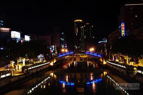 基隆夜景。