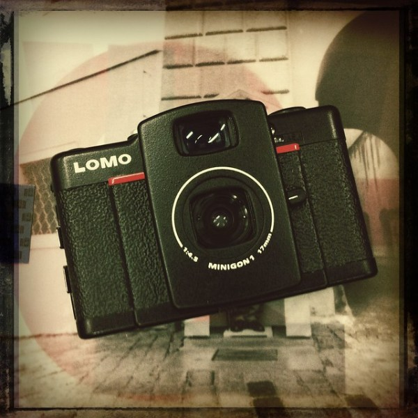 Just recieved my LC-Wide camera in a giant wooden box from @lomographycan