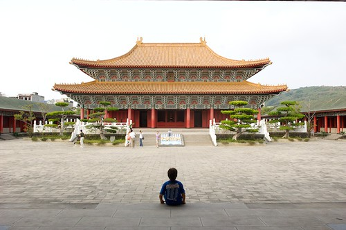 Confucius Temples are always simple places that are great for quiet contemplation.  This one is in Kaohsiung, Taiwan.