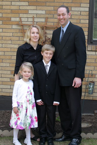 Family Photo Back At The House