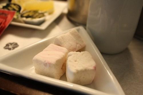 Omni Shoreham - Homemade Peppermint Marshmallows