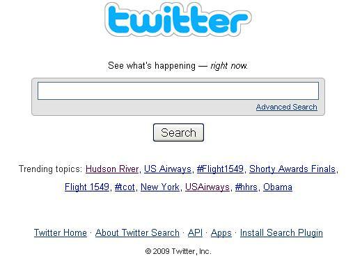 US Airways trending on Twitter