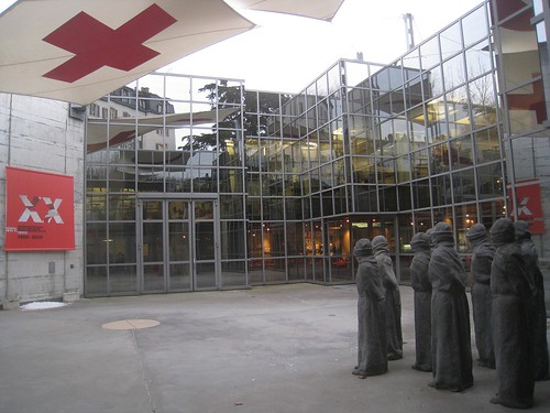 Entrance to Red Cross museum