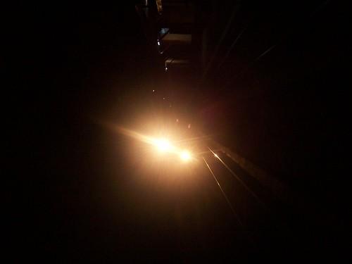 KA Harina Relasi Bandung Semarang di Stasiun Sasaksaat