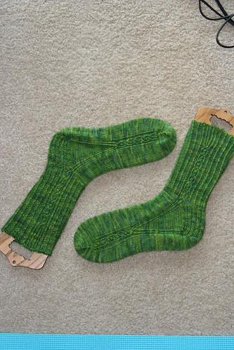 Firestarter socks by Yarnissima