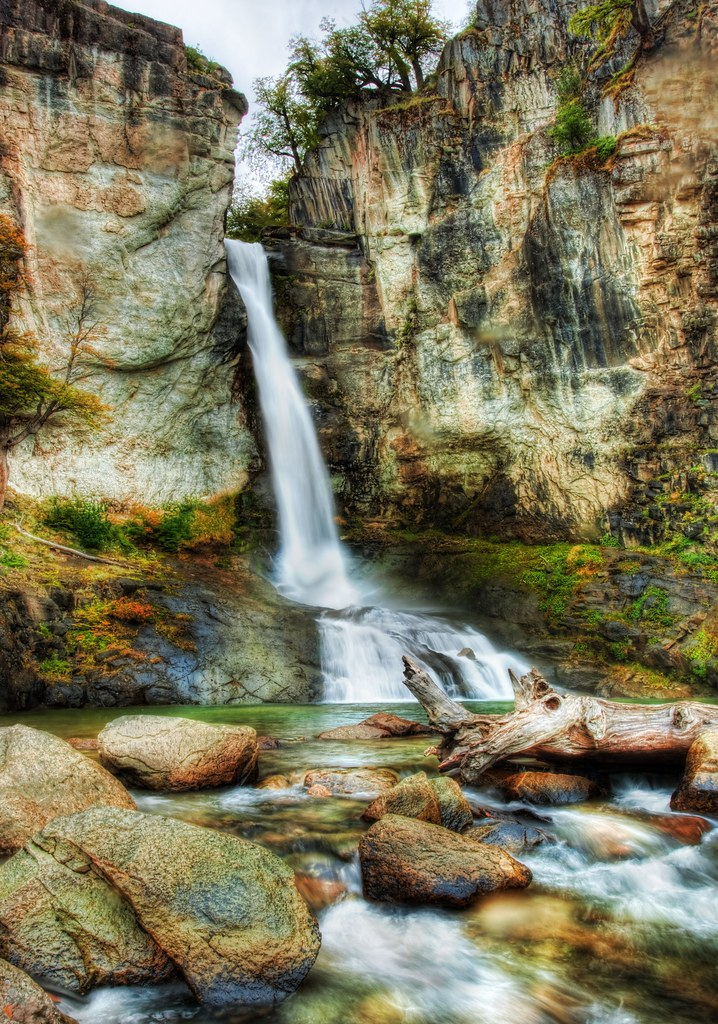 A cool waterfall to relax at during the hike, and a new Newsletter! (by Stuck in Customs)