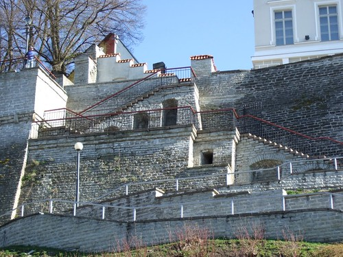 Wall Stairs