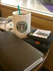 Traveler's Notebook Starbucking
