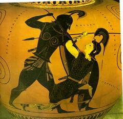 cerámica de figuras negras
