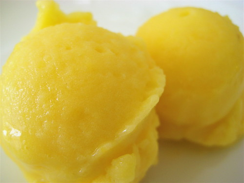 Pineapple Mango Sorbet