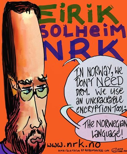 Eirik Solheim -- NRK from Roy Blumenthals Open Video Conference series