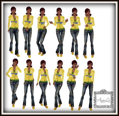 40 :: -AnaLu- *fresh poses* (469-480)