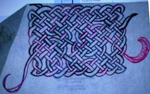 Hand drawn Celtic Knotwork Design 5.18.10