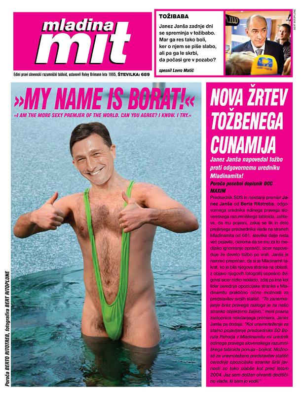 borat pahor in boratkini by mladinamit