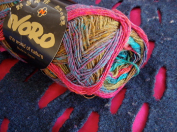 Noro sock yarn