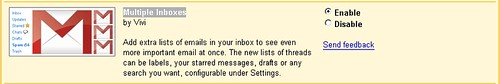 gmail Inboxes (by appleboy46)