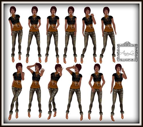 41 :: -AnaLu- *fresh poses* (481-492)