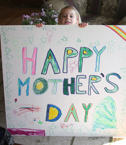 Giant Mothers Day Card