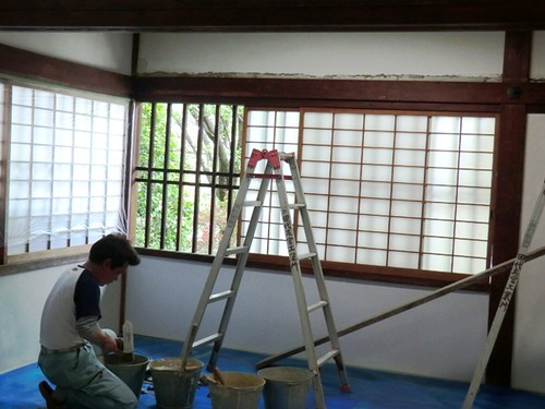Spring Cleaning: Repairing a wall in Goten