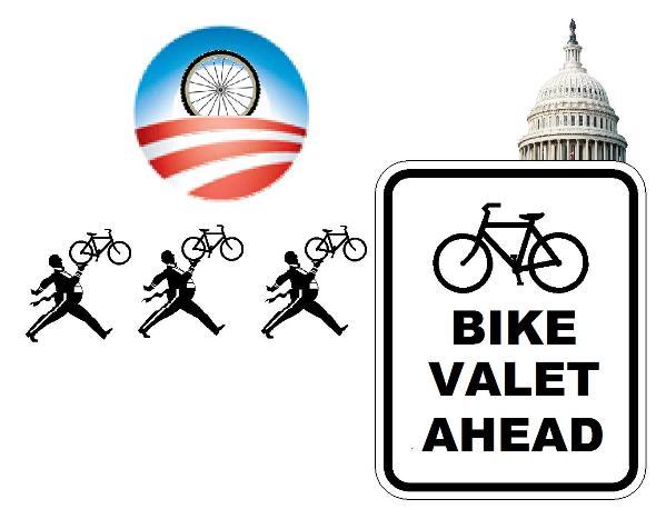 Inauguration Day 2-Wheel Deal -- Free Bike Valet Parking