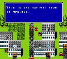 Mysidia, un nombre de pueblo que será muy utilizado en posteriores capitulos de la saga