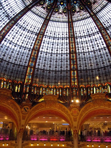 Galeries Lafayette.