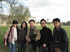 Sv Oxford voi giao su Ngo Bao Chau