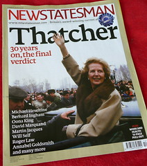 "New Statesman Thatcher ""tribute"" iss..."