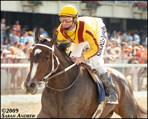 Rachel Alexandra Romps in the Mother Goose