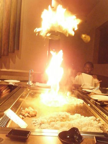 Fire inside is cool.