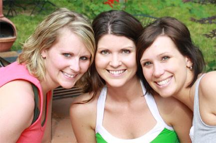 The Mommys - Deborah, me, Jenni